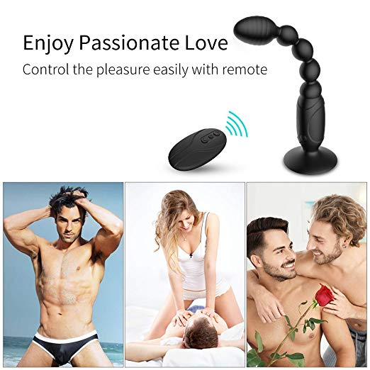 Adorime G-spot Waterproof Rechargeable Anal Vibrator